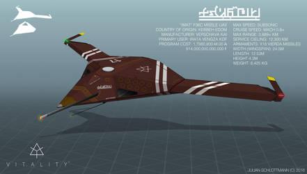 IMAT F36c Missile UAV by FutureFavorite
