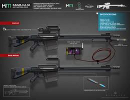 KAIMA CA-55 Anti-Material Rifle by LoomingColumn
