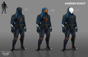 EXIMIUS: Axeron Scout by FutureFavorite