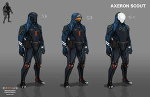 EXIMIUS: Axeron Scout by LoomingColumn