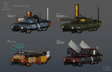 KABAN - K85 by LoomingColumn