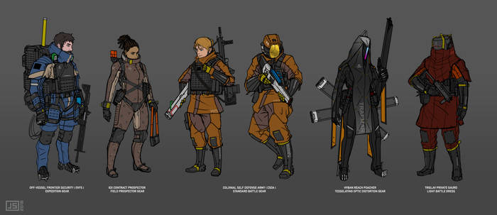KITEZH Character Studies I by FutureFavorite