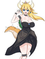 Bowsette by Stranded-Tacos
