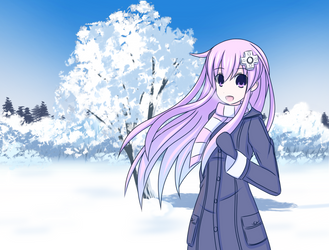Winter Nepgear by Stranded-Tacos