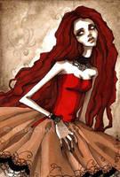 DevID Red Corset by KmyeChan