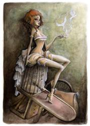 Mademoiselle Colombe by KmyeChan