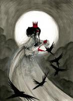 The Raven Queen by KmyeChan
