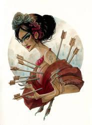 Frida Dolorosa by KmyeChan