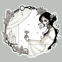La Dame aux Camelias by KmyeChan