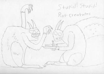 Stupid Stupid Rat Creatures by Generalobiwankenobi7