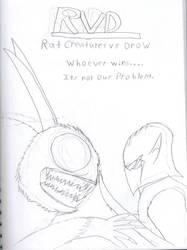 Rat Creatures vs Drow by Generalobiwankenobi7