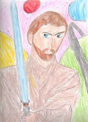 Obi-wan Kenobi. My Hero by Generalobiwankenobi7