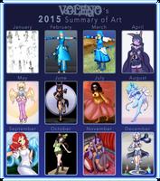 [2015] Summary of Artwork by Voleno