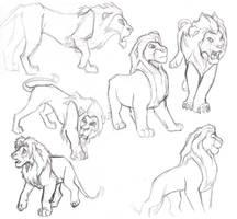lion king practice sheet by daidaishar