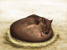 Sleepy Fossa by daidaishar