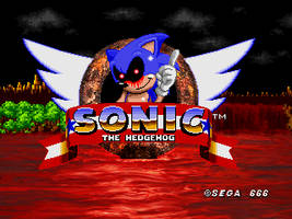 Sonic.EXE - The REAL Title Screen by SecretAgentJonathon