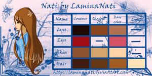 Nati's Color Code by LaminaNati