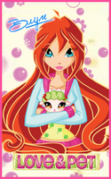 Card: Bloom Love and pets by LaminaNati