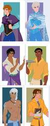 Disney Girls - Genderbend by juliajm15