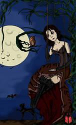 Halloween 2007 'miss Hallow' by shadhe