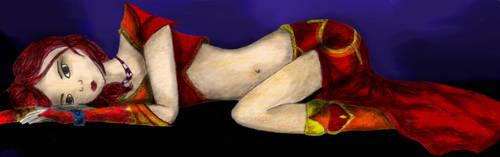 Asleep by shadhe