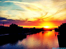 Sunset in Wolfsburg. by ErvaPeker