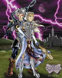 The Dark Couple by CallistoHime