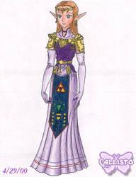 Old Stuff- Zelda by CallistoHime