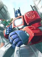 Autobots by EspenG