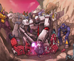 Megatron scraps Prime by EspenG