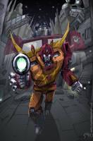 Rodimus Prime by EspenG