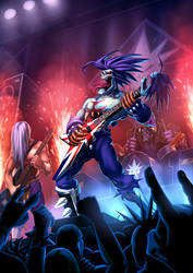 Darkstalkers tribute by EspenG