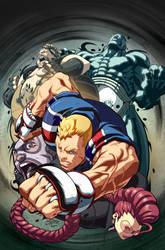 Street Fighter IV 4B by EspenG