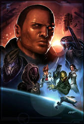 Mass Effect by EspenG