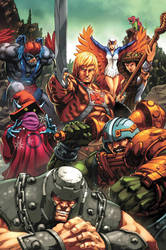 Masters of the Universe, The Good Guys by EspenG
