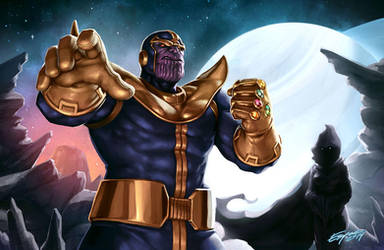 The Mad Titan by EspenG