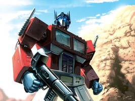 Optimus Prime by EspenG