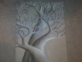 Tree by 0-0mikomiko0-0