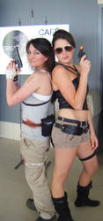 Two Lara Crofts? 'Tis a Good Day. by SoiFon-FanGirl