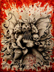 Asmodeus by PriestofTerror