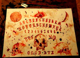 Ouija Board by PriestofTerror