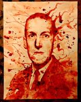 Howard Phillip Lovecraft by PriestofTerror