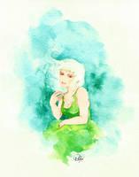 Erika(mermaid)  by nighyee