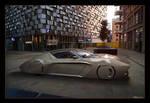 XIIIDSter Speedboat concept @dusk #1 by xiiid