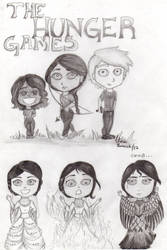 The Hunger Games by Clarit