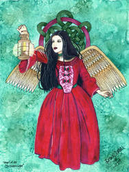 Angel of the Christmas Light by jenely