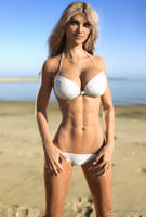 Alyssa White Bikini by junetoseptember