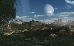 Valley of the Gods by hoevelkamp