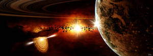 Cosmic Overkill by hoevelkamp