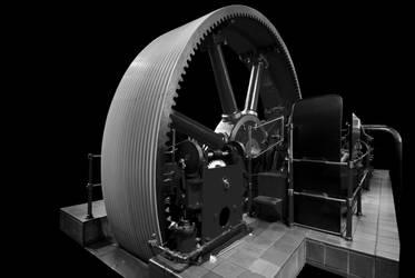 Industrial Steam Engine by CitizenJustin